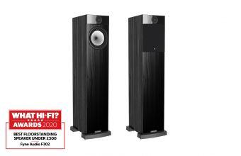 Fyne Audio F302 (Black Ash)
