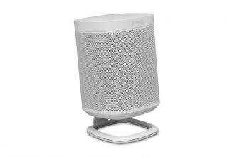 Flexson Single Desk Stand for Sonos One, PLAY 1 and One SL (White)