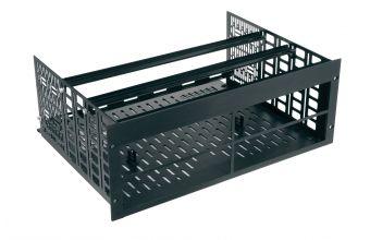 Sanus Rack Mount for Four Sonos Amps (Black)