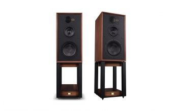 Wharfedale Linton with Stands (Walnut)