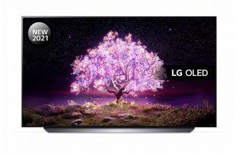 LG OLED48C14LB & TONE Free FN4 (Black)