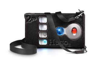 Chord Electronics Hugo 2 and 2go Leather Case with Strap (Black)