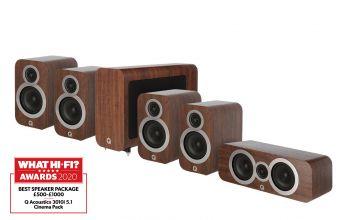 Q Acoustics 3010i 5.1 package