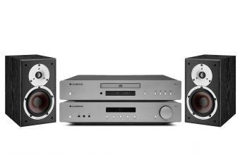 Cambridge Audio AXA35, AXC35 (Lunar Grey) & DALI SPEKTOR 2 (Black)