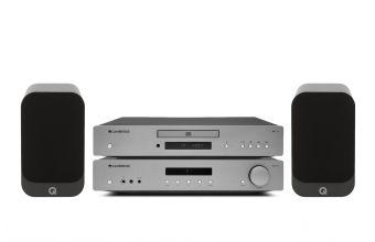Cambridge Audio AXA35, AXC35 (Lunar Grey) & Q Acoustics 3020I (Graphite)