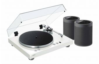 Yamaha MUSICCAST VINYL 500 (White) & MUSICCAST 20 (Black) (X2)