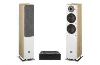 Sonos AMP (Black) & DALI OBERON 5 (Light Oak)