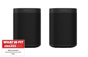 Sonos ONE SL (Black) (X2)