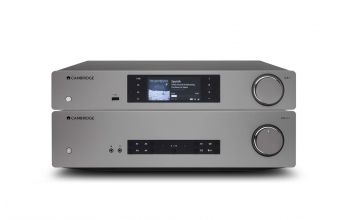 Cambridge Audio CXA61 & CXN V2 (Lunar Grey)