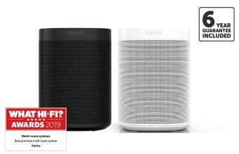 Sonos One SL (X2) Black/White