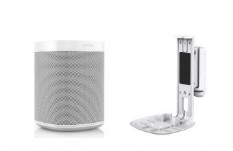 Sonos One Gen 2 & Flexson S1WM (White)