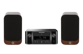 Marantz Melody M-CR412 (Black) & Q Acoustics Q3010i (Walnut)