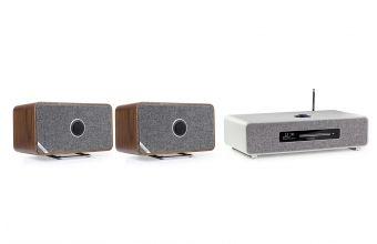 Ruark Audio R5 (Grey) & MRx (X2) (Walnut)