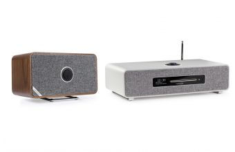 Ruark Audio R5 (Grey) & MRx (Walnut)