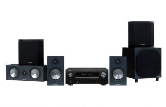 Denon AVC-X3700H, Monitor Audio Bronze 50, C150, FX 6G & W10 6G (Black)