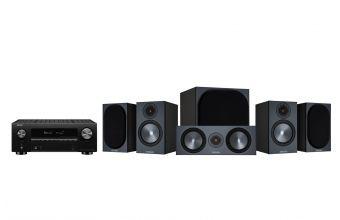 Denon AVC-X3700H, Monitor Audio Bronze 50 (X2), Bronze C150 & W10 6G (Black)