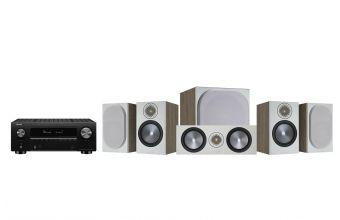 Denon AVC-X3700H, Monitor Audio Bronze 50 (X2), Bronze C150 & W10 6G (Grey)