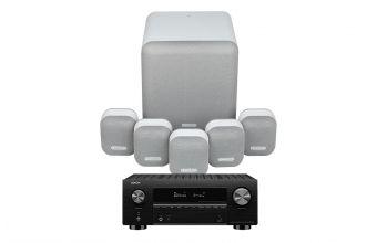 Denon AVC-X3700H & Monitor Audio MASS 5.1 (Mist)