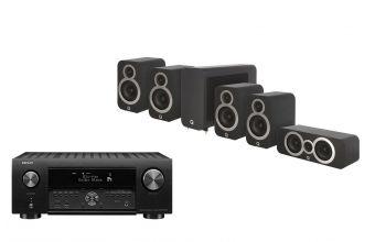 Denon AVC-X4700, Q Acoustics Q3010i (X2), 3060S & Q3090Ci