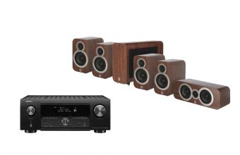 Denon AVC-X4700, Q Acoustics Q3010i (X2), 3060S & Q3090Ci (Walnut)