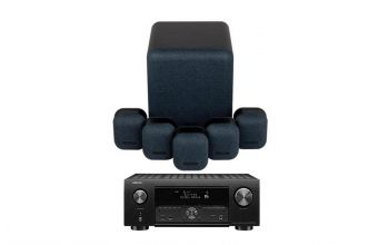 Denon AVC-X4700 & Monitor Audio MASS 5.1 (Midnight)