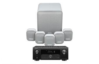 Denon AVC-X4700 & Monitor Audio MASS 5.1 (Mist)