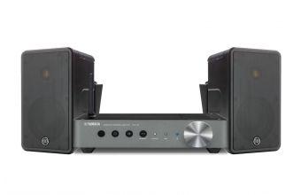 Monitor Audio Climate 50 (Black) & Yamaha MusicCast WXA50 (Silver)