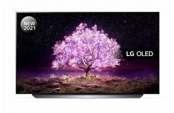 LG OLED55C14LB & TONE Free FN4 (Black)