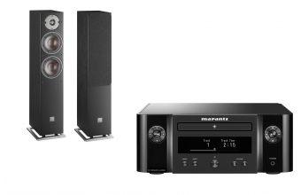 Marantz Melody X M-CR612 & DALI OBERON 5 (Black)