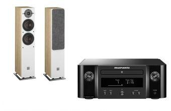 Marantz Melody X M-CR612 (Black) & DALI OBERON 5 (Light Oak)