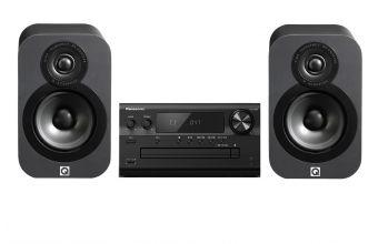 Panasonic SA-PMX802 (Black) & Q Acoustics 3010 (Graphite)