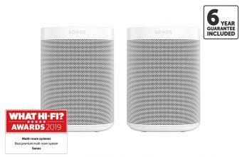 Sonos ONE (GEN 2) (X2)