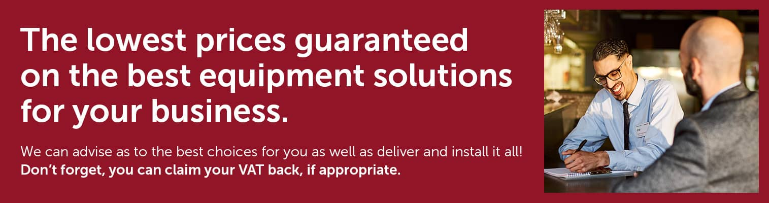 Lowest prices guaranteed on the best equipment solutions for your business