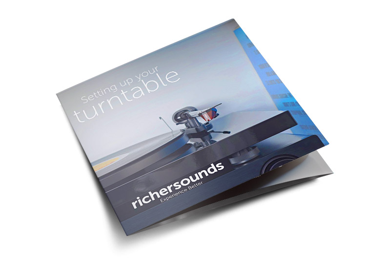 Setting up your turntable brochure