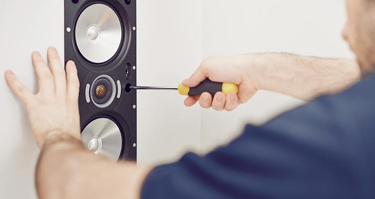 Concealed speakers