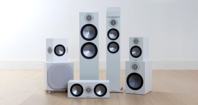 Surround speaker packages