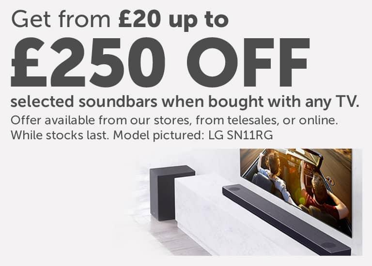 Soundbar savings