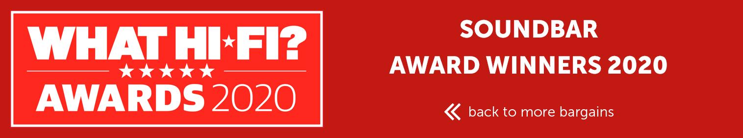 Soundbar award winners 2020