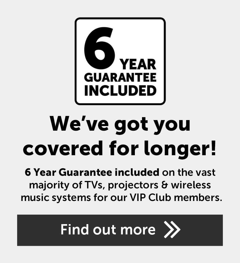 6 Year Guarantee included