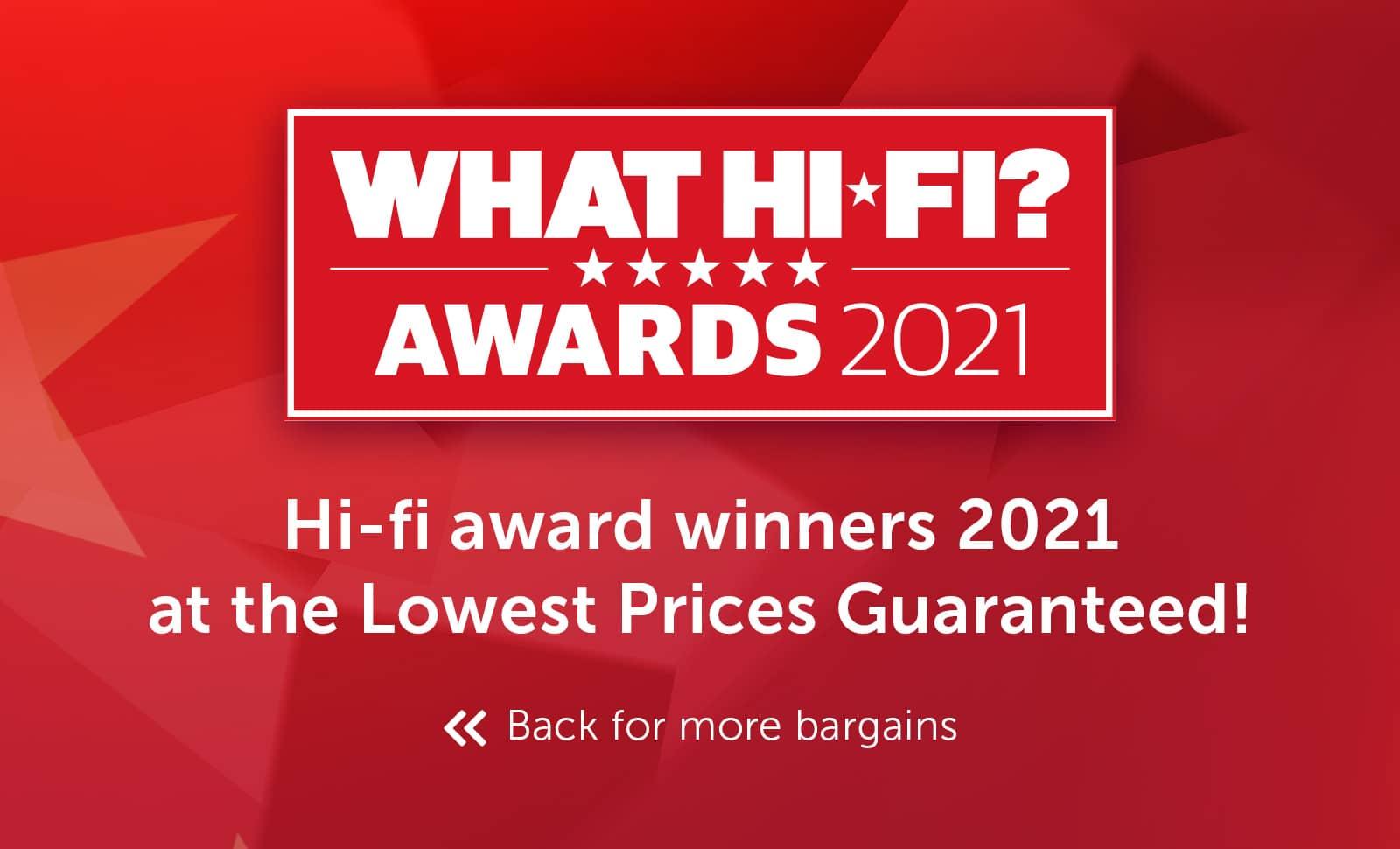 What Hi-Fi? Best Buy Awards 2021 - Hi-fi