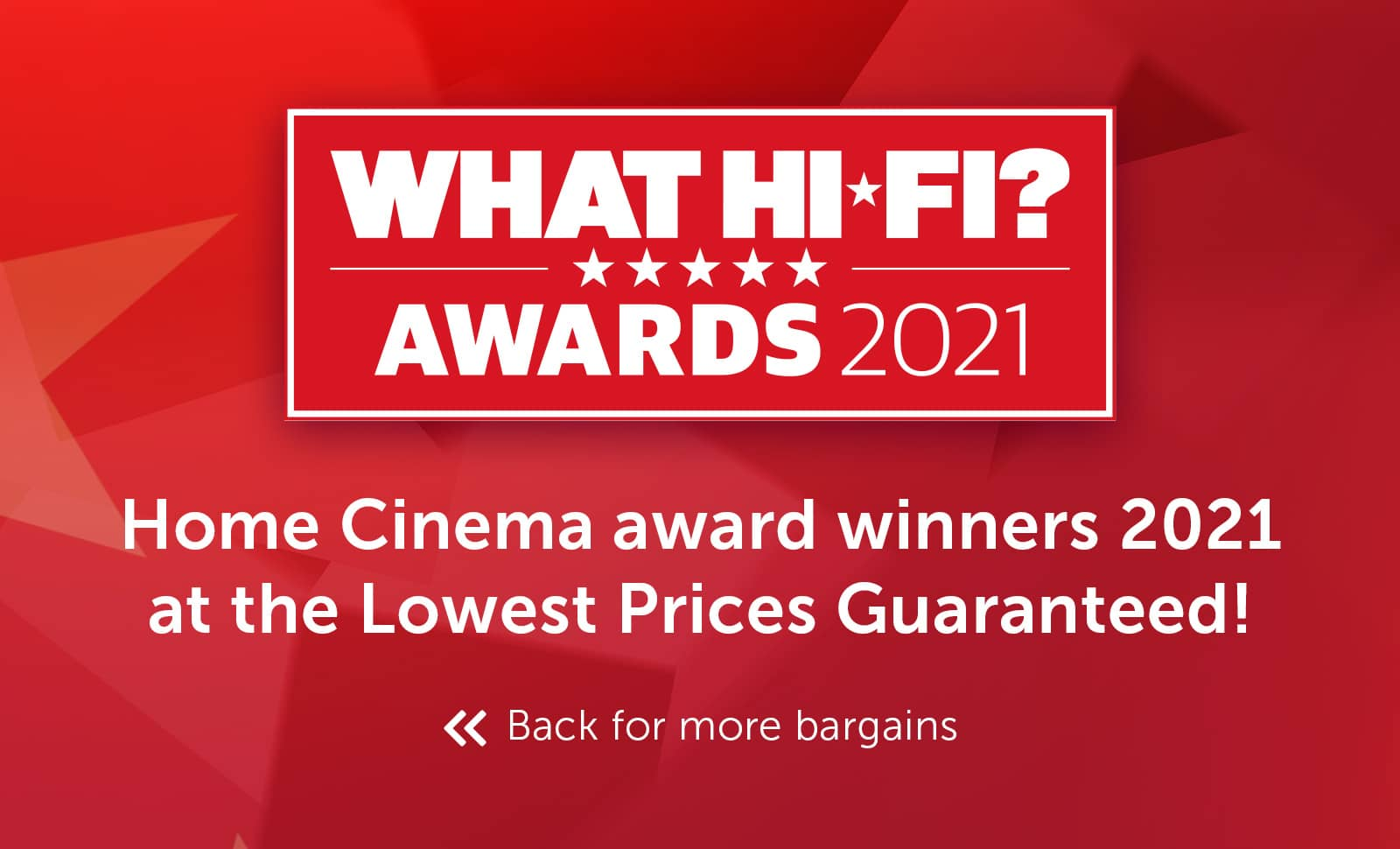 What Hi-Fi? Best Buy Awards 2021 - Home Cinema