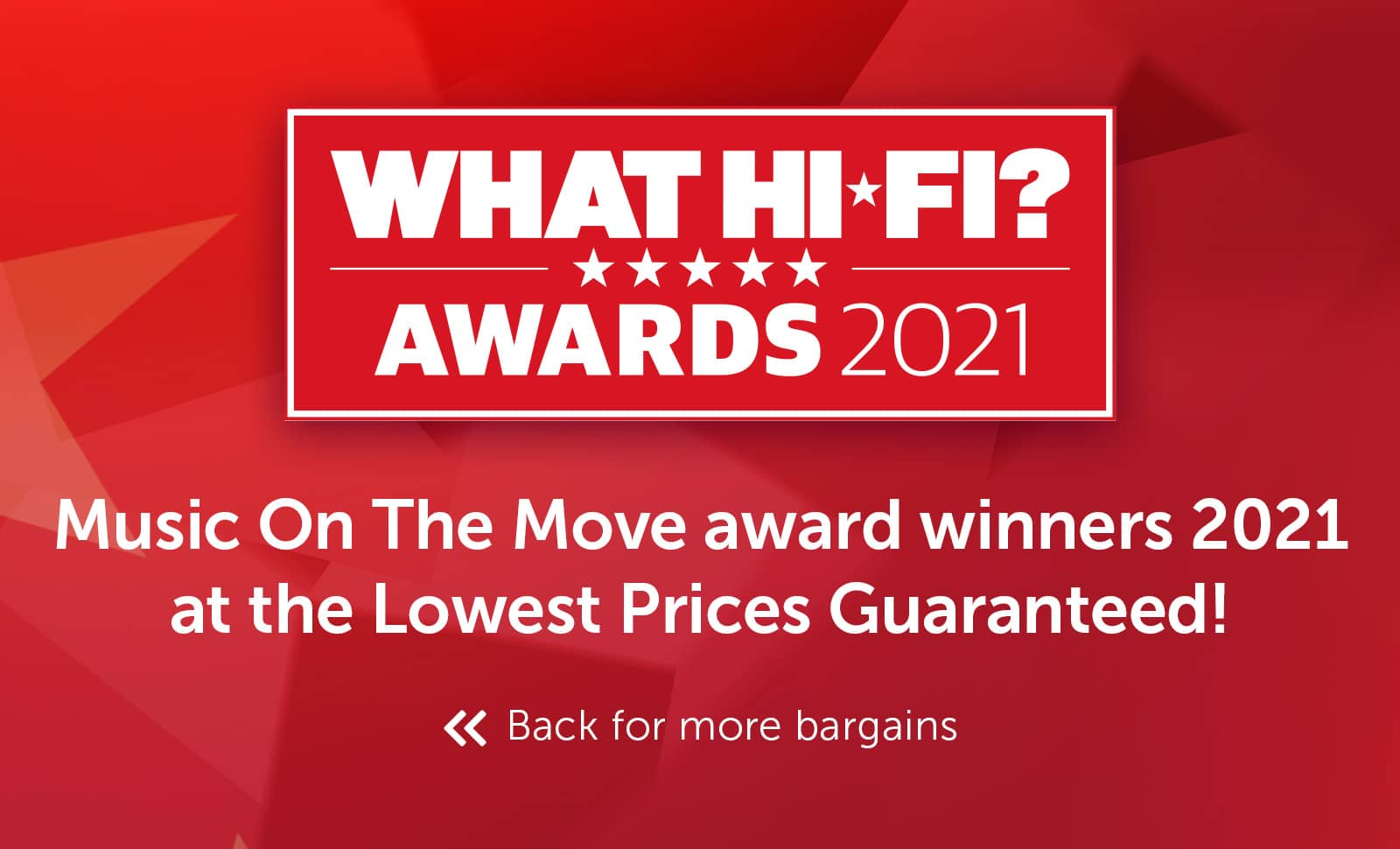 What Hi-Fi? Best Buy Awards 2021 - Music on the move