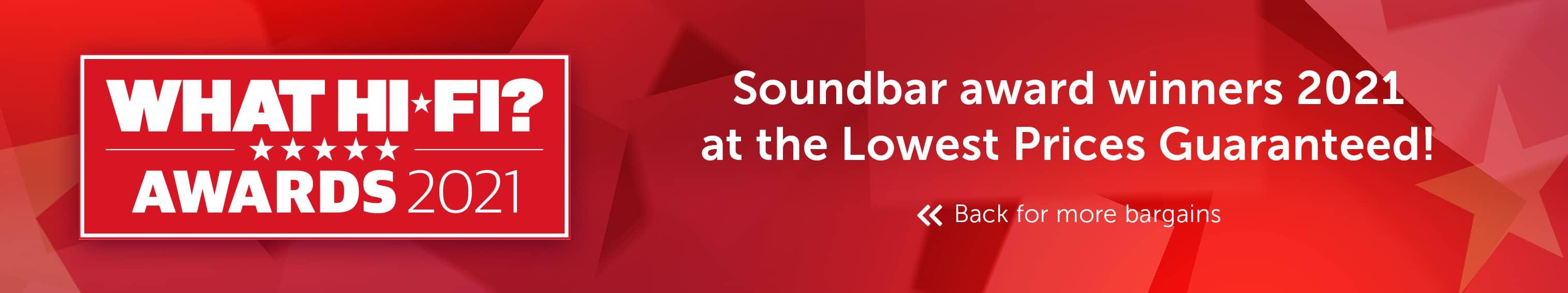 What Hi-Fi? Best Buy Awards 2021 - Soundbar
