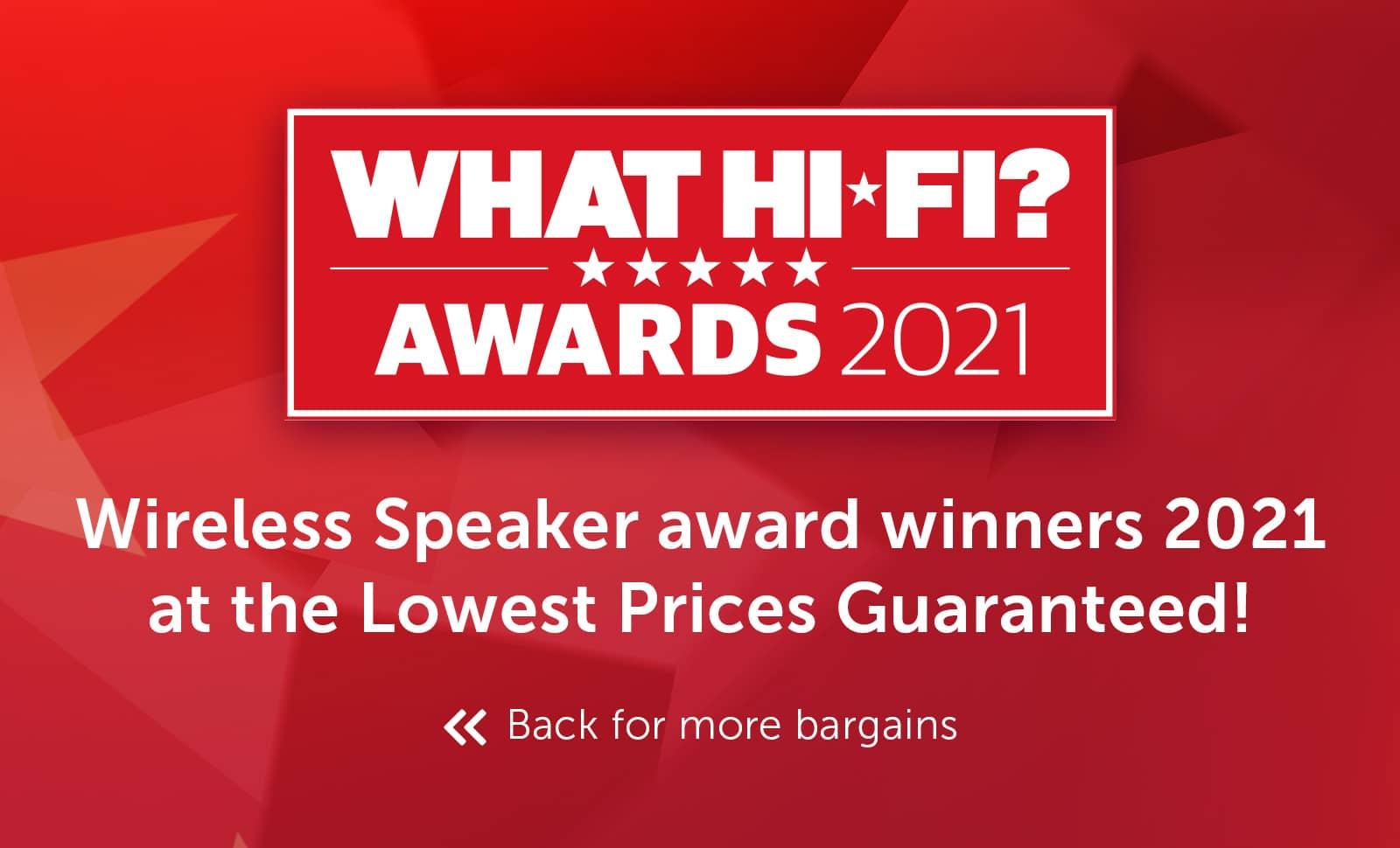 What Hi-Fi? Best Buy Awards 2021 - Wireless Speakers