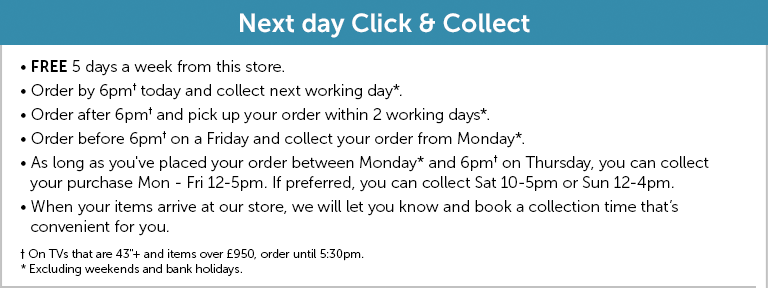 Next day Click & Collect