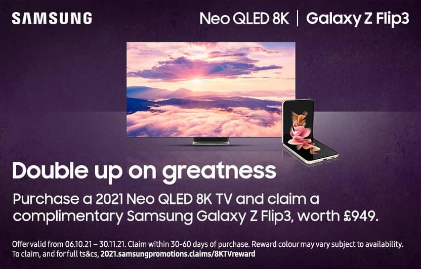 Samsung QLED 8K Flip3