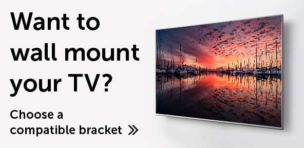 Want to wall mount your TV?