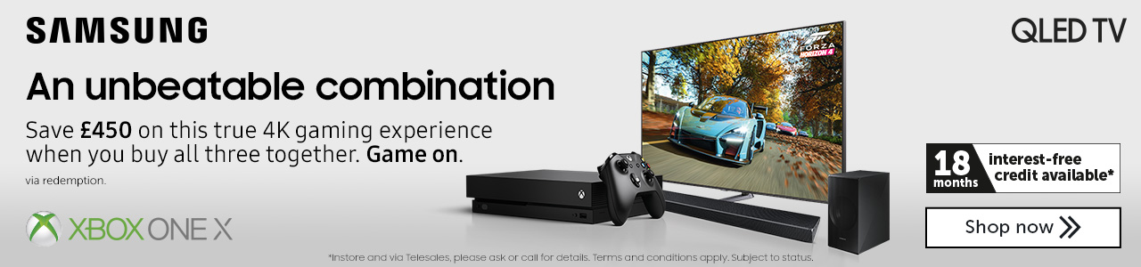 Samsung QLED TV Xbox one X offer