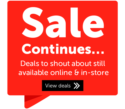 Sale Continues