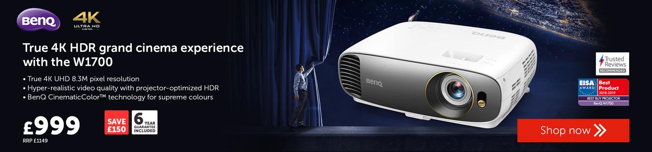 BenQ W1700 projector